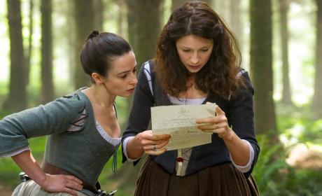 Claire Reads a Letter - Outlander