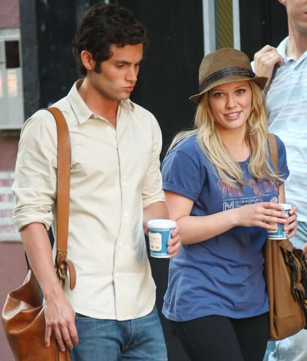 Hilary Duff, Penn Badgley
