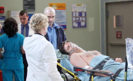 Eric Causes a Car Accident - Days of Our Lives