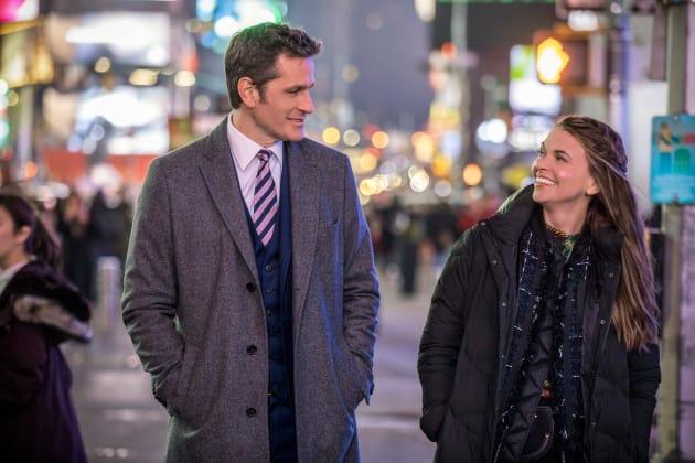 Liza and Charles Walking - Younger Season 5 Episode 1