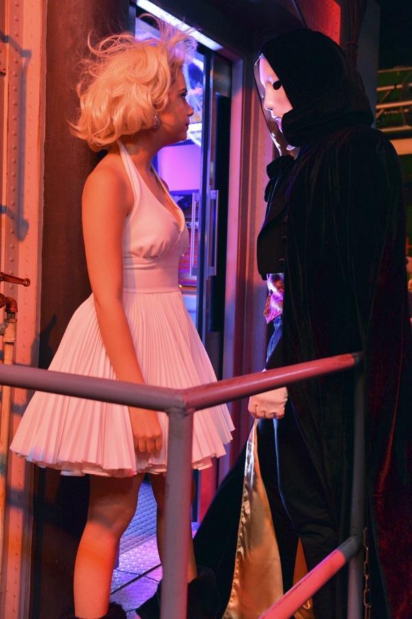 Hanna as Marilyn Monroe