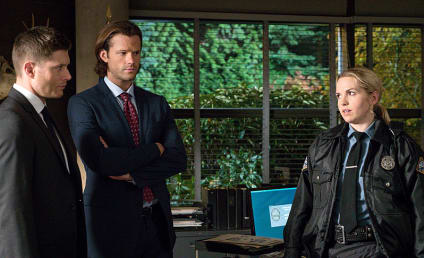 Supernatural Photo Preview: Sheriff Donna is back!