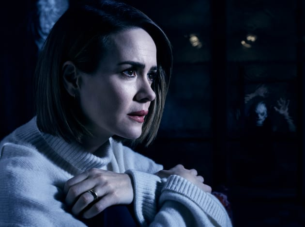 Sarah Paulson as Ally — American Horror Story Season 7 Episode 1