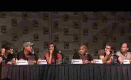 Cast at Comic-Con