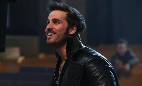 Hook Looks Elated