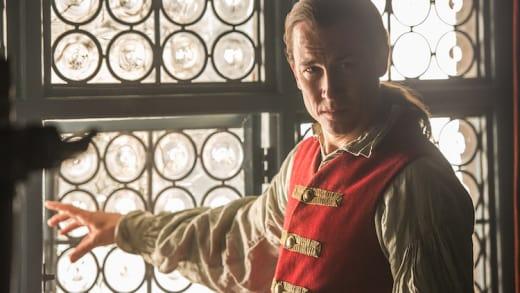 Tobias Menzies as Black Jack - Outlander