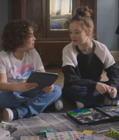 David Michael and Kristy - The Baby-Sitters Club Season 2 Episode 8