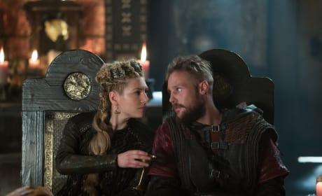 Lagertha and Ubbe Plotting - Vikings Season 5 Episode 4