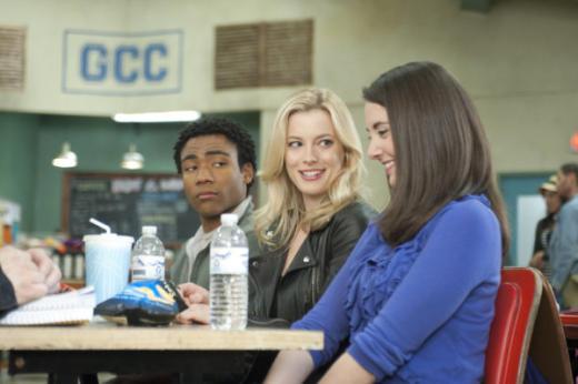 Troy, Annie and Britta