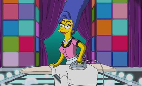 Drag Queen - The Simpsons