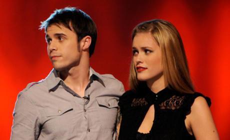 Kris Allen and Megan Corkrey Photo