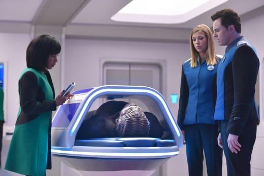 Sick Bay Meeting - The Orville Season 2 Episode 2