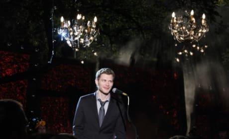 Klaus at Homecoming
