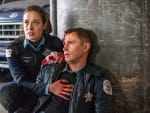 Burgess and Rowan Are Trapped - Chicago PD