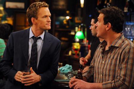 Barney and Marshall Lie