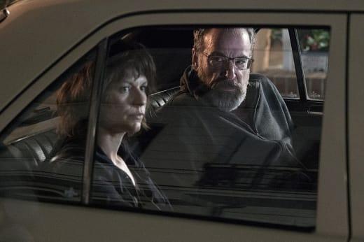 Carrie and Saul - Homeland