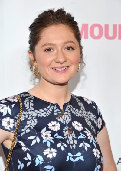 Emma Kenney Attends Kerry Washington Event