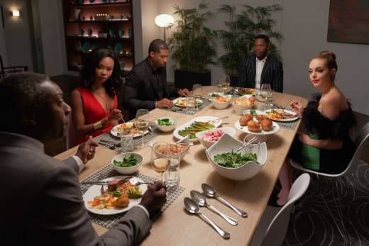 Family Dinner - Dynasty Season 1 Episode 14