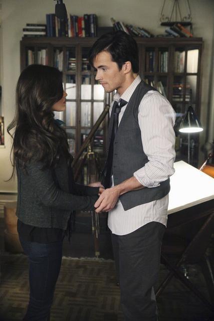 Aria and Ezra Photo