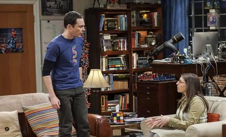 Calm Him Down, Amy! - The Big Bang Theory Season 10 Episode 9