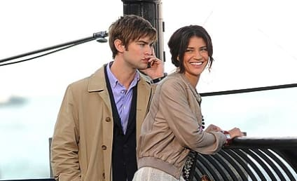 Spotted: Chace Crawford and Jessica Szohr