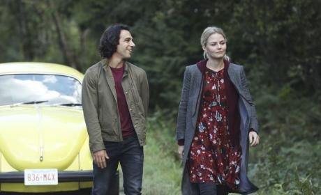 Emma Persuades Aladdin - Once Upon a Time Season 6 Episode 6