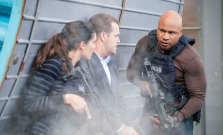 A Firefight - NCIS: Los Angeles