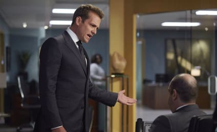 Suits Photo Preview: Trouble for Rachel & Mike?