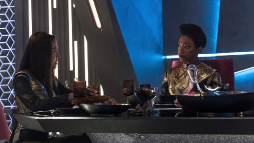 Sharing a Meal - Star Trek: Discovery Season 1 Episode 12