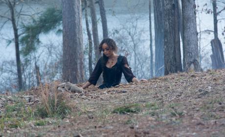 Tituba mourning - Salem Season 3 Episode 2