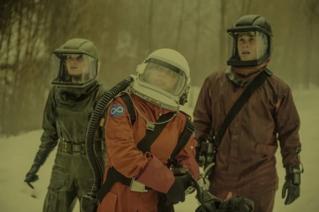 Headed to Space — The 100 Season 4 Episode 13