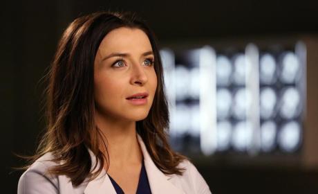Amelia at the Hospital - Grey's Anatomy Season 11 Episode 8