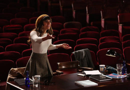 Rachel Readies an Audition