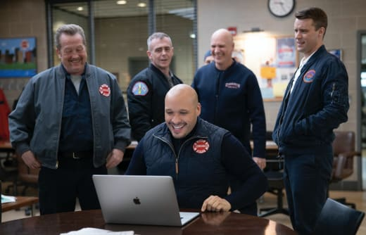 Around the table long - Chicago Fire Season 8 Episode 18