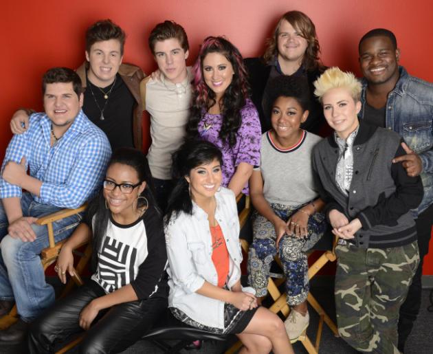 The American Idol Top 10