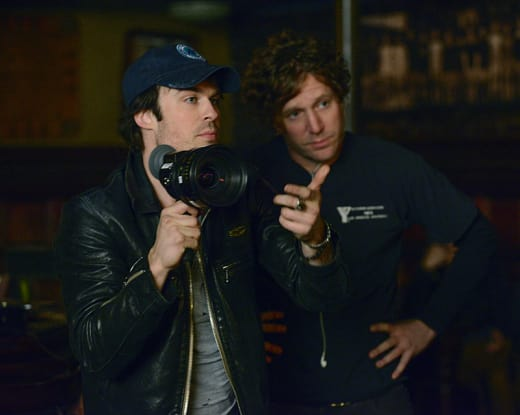 Director Damon - The Vampire Diaries