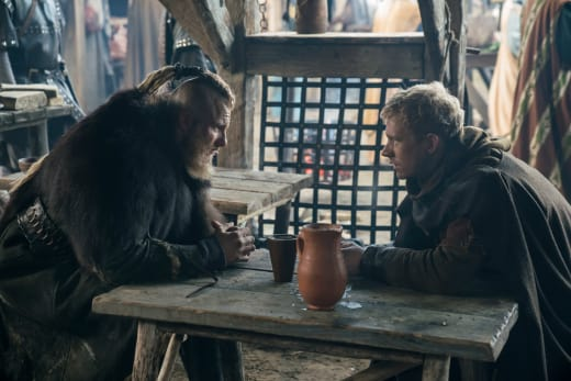 Bjorn and Magnus - Vikings Season 5 Episode 13