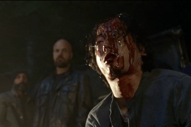 Negan Kills Glenn - The Walking Dead