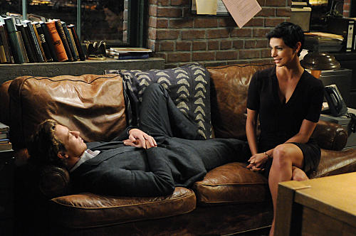 Morena Baccarin on The Mentalist