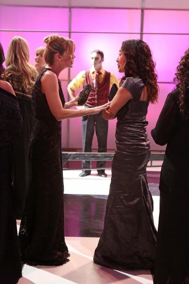 Mer and Cristina Scene