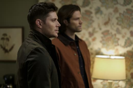 A look of surprise - Supernatural Season 12 Episode 19