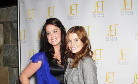Ashley and Joanna Party at JET