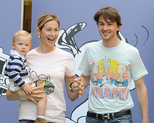 Daniel Giersch and Kelly Rutherford Photo