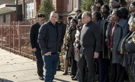 Blocking the Church  - Chicago PD