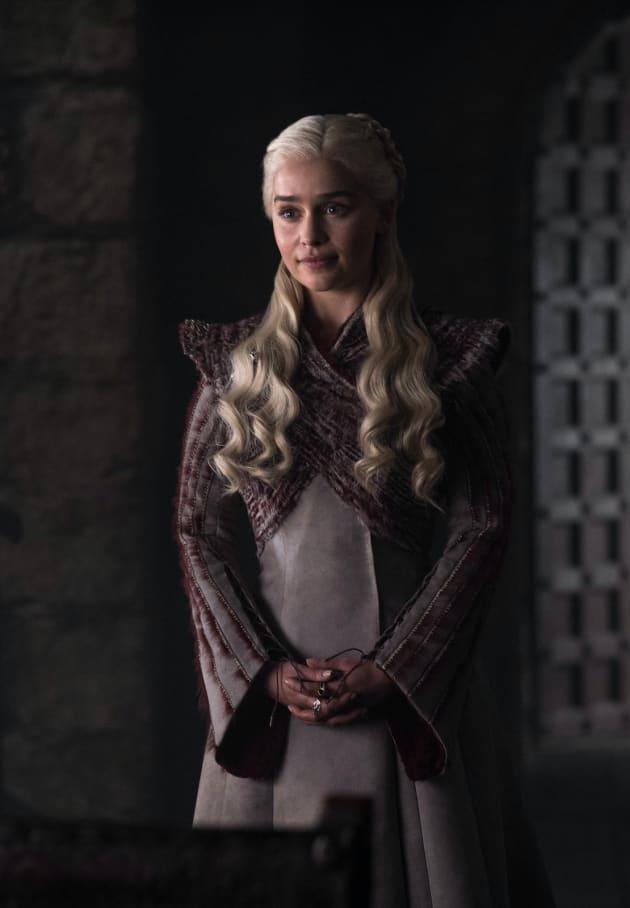Daenerys Smiles - Game of Thrones Season 8 Episode 2