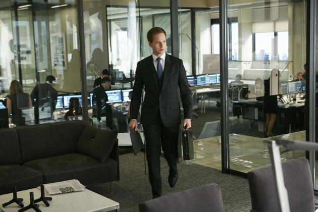 Mike Enters an Office