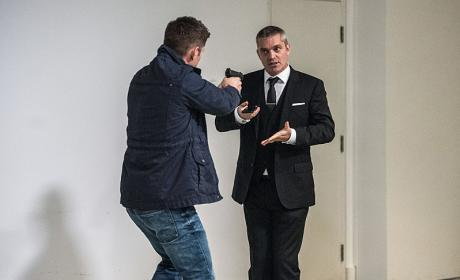 The man in the suit arrives - Supernatural Season 12 Episode 5