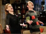 Sheldon and Mrs. Hofstadter Sing