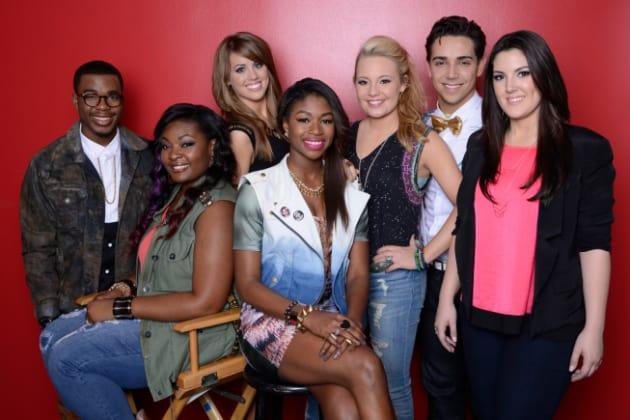 American Idol Top 7 Pic