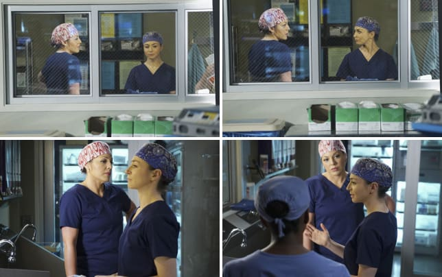 Callie and amelia greys anatomy s11e24